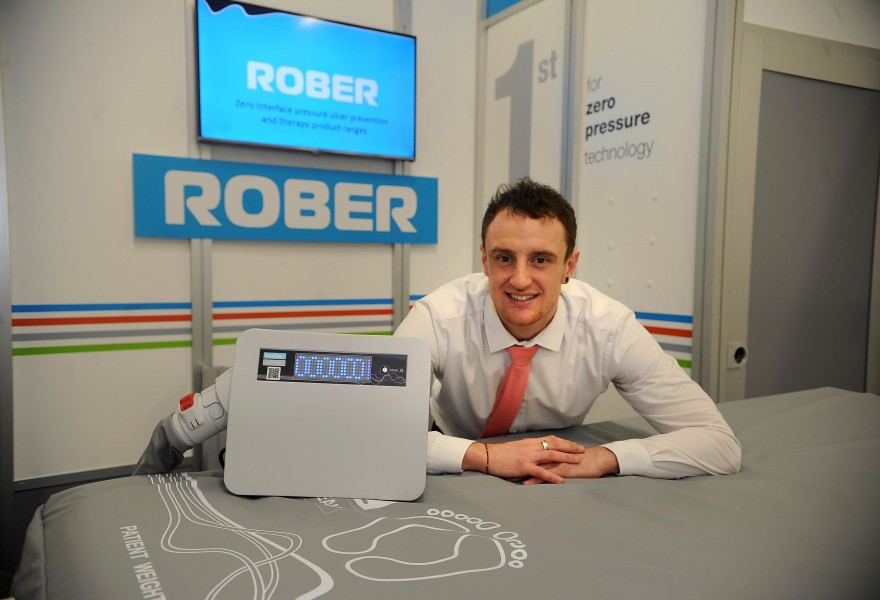 Rober attend Arab Health