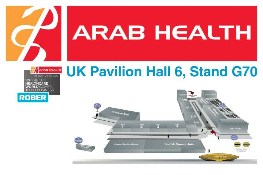 Visit Rober at Arab Health 2018
