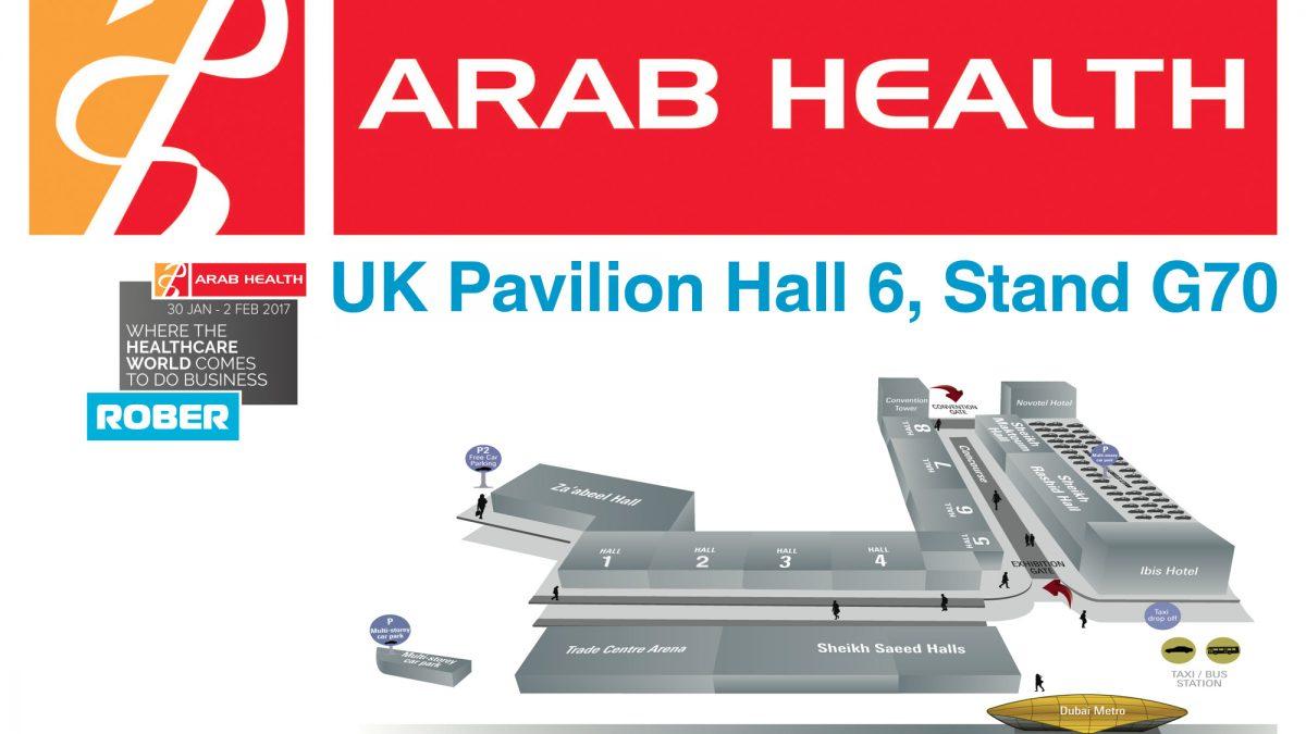 Visit Rober at Arab Health 2018